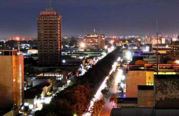 Lusaka,_Zambia_at_Night